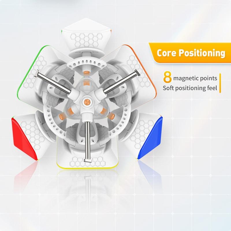 cubo magnetico de gan skewb m cubo 04