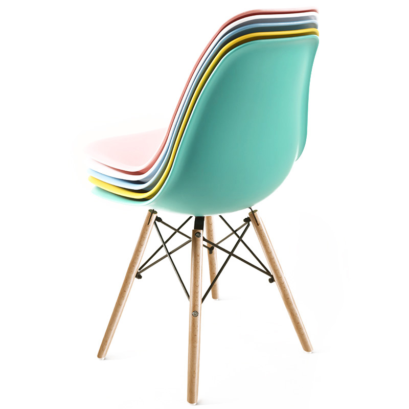 Chair Modern Minimalist Home Back Stool Nordic Discussion Creative Desk Chair Simple Plastic Dining Chair