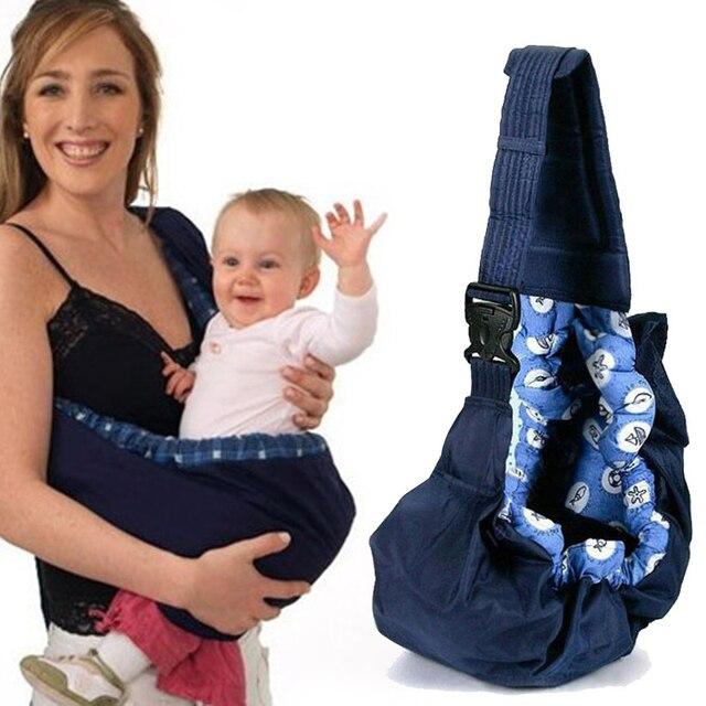 Nieuwe Draagzak Baby Riem Babyvoeding Zakken Katoenen Doek Draagdoek Doek Baby Sling Pouch Reizen Non- slip Handig 1