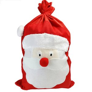 Large Size Supplies Cotton Linen Funny Gift Candy Gift Bags Handbag Christmas Tree Hanging Ornaments Supplies