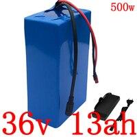 36В аккумулятор 36В 12Ач батарея для электрического велосипеда 36В 10ач 12Ач 13ач 15ач литиевая батарея для 36В 250 Вт 350 Вт 500 Вт ebike мотор