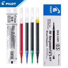 12Pcs Pilot BXS V5RT(VR5) Gel Ink Pen Refill for Hi Techpoint BXRT V5/GR5 Liquid  0.5mm Rollerball  Black /Blue /Red Color