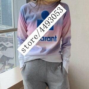 Mulher hoodies runway 2020 outono feminino manga longa camisolas