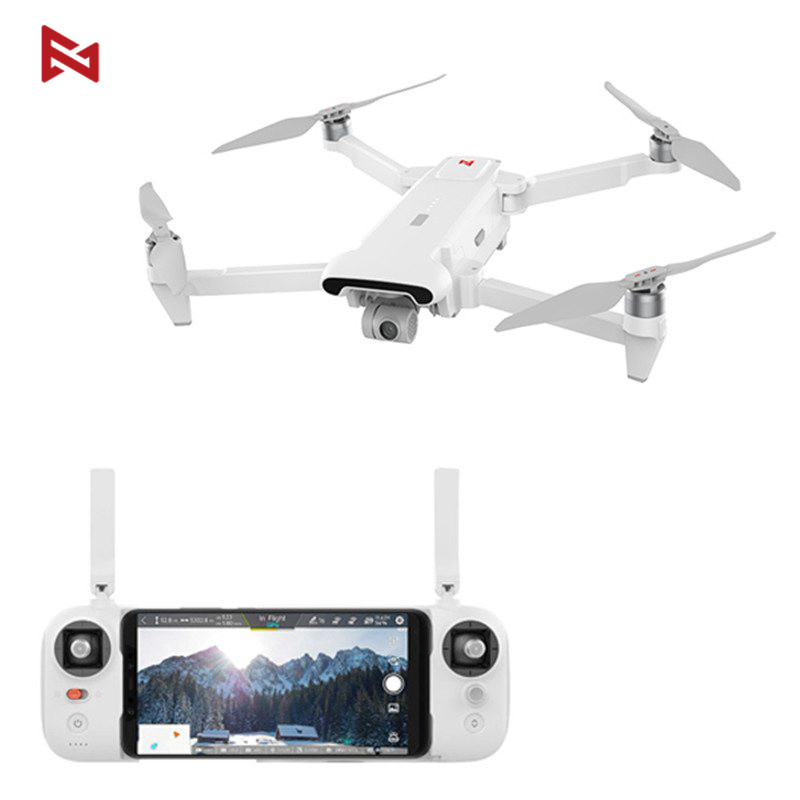 Fimi x8 se 5 km fpv com 3 eixos cardan 4 k câmera gps 33 minutos de tempo de vôo rc zangão quadcopter rtf