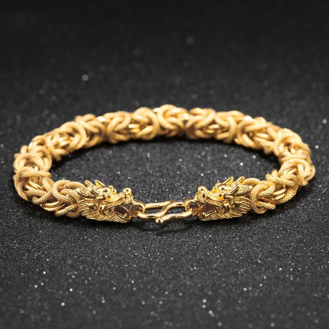 DXJEL Gold Bracelets Men...