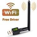 USB Wi-fi адаптер MT7601 с антенной, USB Wi-fi адаптер, Ethernet Wi-fi адаптер, Бесплатный драйвер для настольного ПК, ноутбука