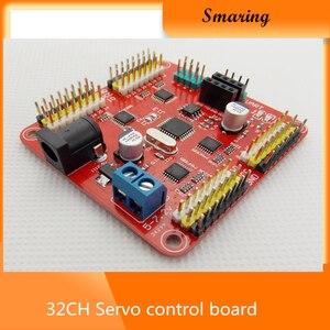 32CH серводвигатель, SSC -32 серводвигатель, панель управления, для управления роботом, механический коготь, бесплатная доставка
