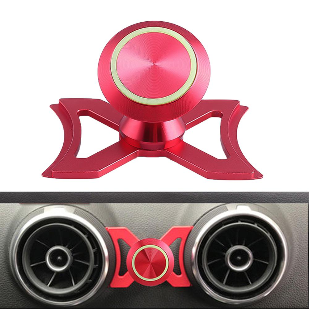 Car  Magnetic Phone Holder Car Air Vent Outlet Mount Luminous 360° Rotary Swivel Cell Phone Magnetic Cradle For Audi A3/S3