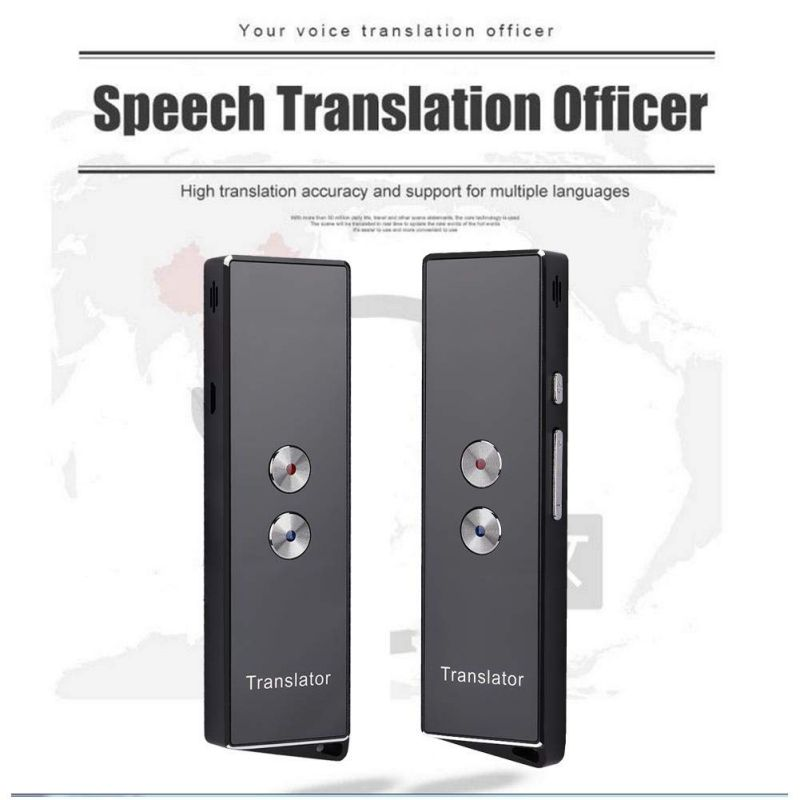 Smart Translator For Bluetooth Portable Real-Time Intelligent Multi-Language Voice Text Translation Device More Than 40 Langua