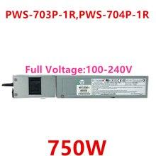 Блок питания для Supermicro 750W блок питания PWS-703P-1R PWS-704P-1R