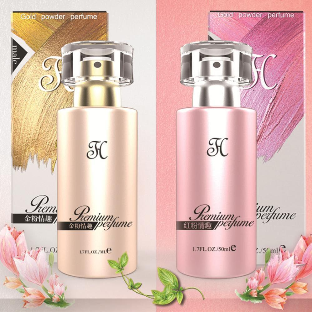 50ml Pheromone Original Women Perfume Long Lasting For Female Natural Femininity Fragrance Lady Glass Bottle Atomizer Parfume
