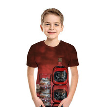 fashion T-shirt for a boy 3D printing summer children clothes short-sleeved round neck casual girls Tshirt Kids clothing Tops children s clothing new summer 2020 fashion children s short sleeved t shirt