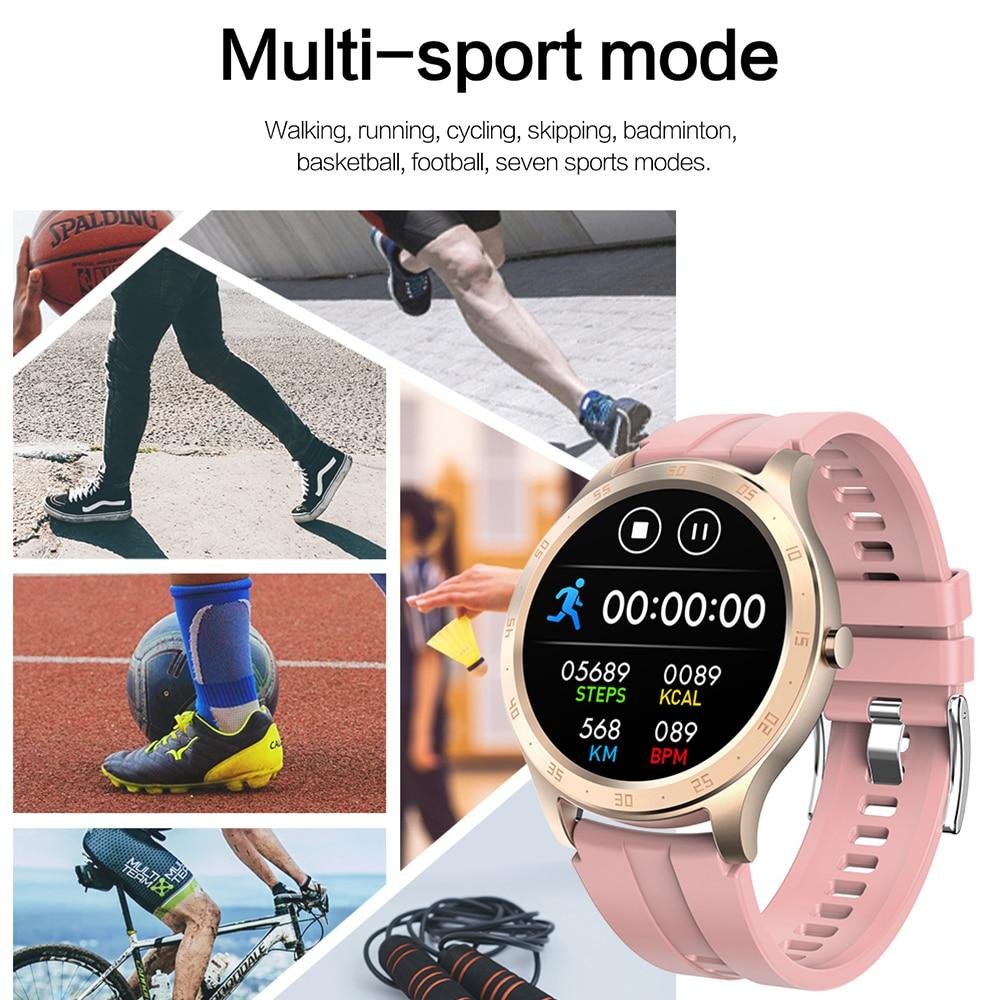 COLMI Smart Watch Men Fitness Tracker IP67 Waterproof Blood Pressure Smart Clock APP 28 languages Women Smartwatch for iphone 3