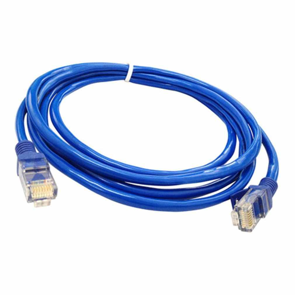 Câble Ethernet plat RJ45 Lan câble réseau LAN cordons Ethernet cordon de raccordement pour ordinateur routeur ordinateur portable