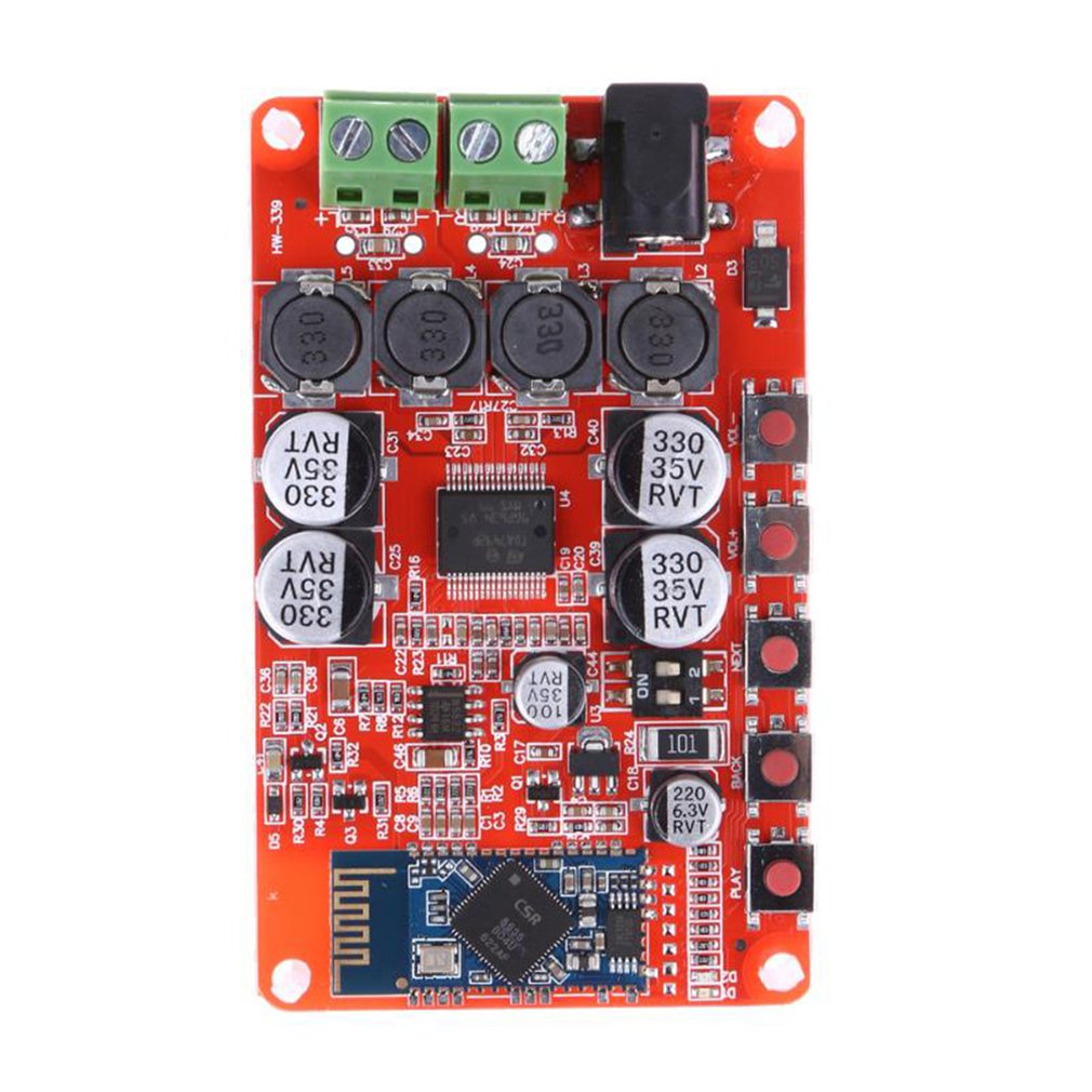 Tda7492P Power Amplifier Board Audio Receiving Digital Power Amplifier Board