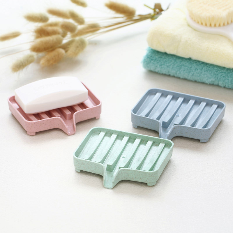 Bathroom Draining Soap Box Drainage Soap Dish Storage Box Kitchen Soap Dish Tub Sponge Storage Cup Rack Soap Holder Draining Set