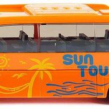 Mercedes-Benz  Reisebus,Metall/Kunststoff, ffenbare Tren und Klappe, Orange