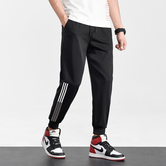 Brand Joggers Casual Sports Pants Men Gym Clothing Comfortable Male Tracksuit Bottoms Black Track Pants Mens Fitness Sweatpants 5