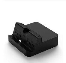 NS05 Gulikit Dock anahtarı yerleştirme istasyonu USB C PD şarj braketi cep telefon standı 4K anahtarı TV modu Dock kiti