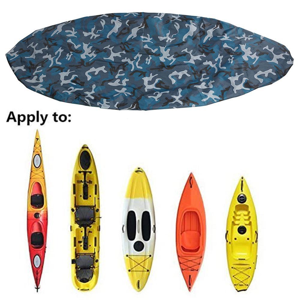 Professional Kayak Boat Waterproof UV Resistant Dust Storage Cover Shield I8Z1