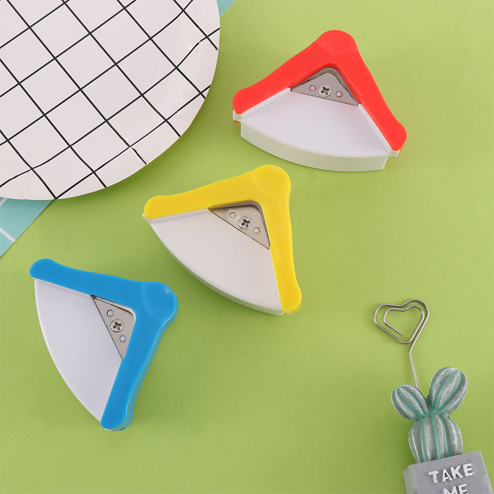 R5 Paper Cutter R5mm Rounder Round Corner Trim Paper Punch Card Photo Cartons Cutter Tool Clipper Office Stationery Paper Punche