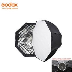 Godox AD-H6 23.6 60cm Octagon Folding Umbrella Softbox with Grid Godox Mount For AD600 AD600M(not for Bowens Mount) Flash