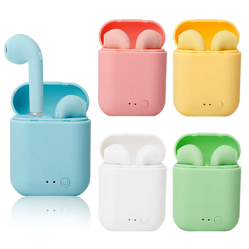 Оригинальные i12 Tws Bluetooth 5,0 наушники HiFI Touch Key i7s mini2 i9s наушники беспроводные наушники для спорта с зарядным боксом