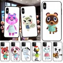Animal cruzamento wiki diy caso capa de telefone escudo para iphone 12 pro max 11 pro xs max 8 7 6s plus x 5S se 2020 xr