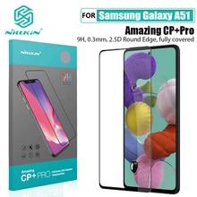 NILLKIN Película protectora de cristal templado para Samsung Galaxy A51, increíble película protectora de pantalla CP + PRO H/H + Pro para Samsung A51