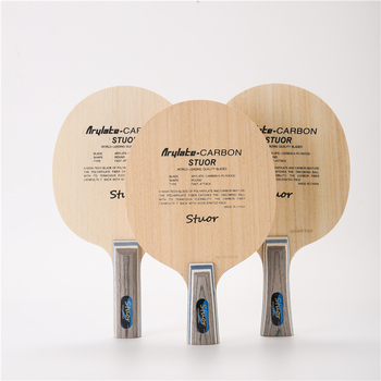 Stuor 7Ply プライアリレートカーボン繊維卓球ブレード軽量ピンポンラケットブレイド卓球アクセサリーテーブルテニスバット