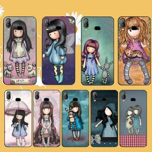 PENGHUWAN Santoro Gorjuss cute cartoon girl Soft Silicone TPU Phone Cover For Samsung A10 A20 A30 A40 A50 A70 A71 A51 A6 A8 2018(China)
