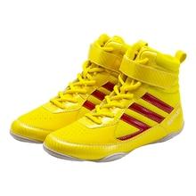 TaoBo-zapatos de lucha profesional para mujer, botas con cordones de suela exterior, talla 35-45, 2020