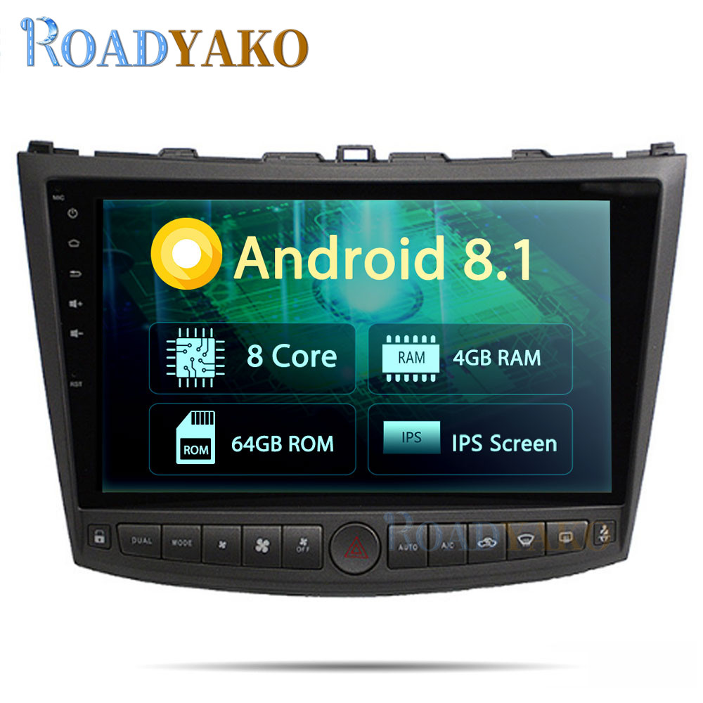 10.1'' Android 10.<font><b>0</b></font> Auto Car Radio For Lexus IS250 IS300 2005 - 2011 Stereo Car Multimedia Autoradio Navigation GPS player image