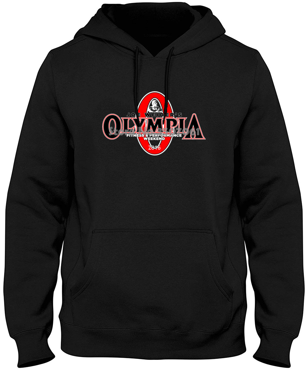 Hot Mr Olympia Bodybuilding Fitness Loose Brand Clothihng Top Quality Fashion Looses 100%cotton Hoodies & Sweatshirts