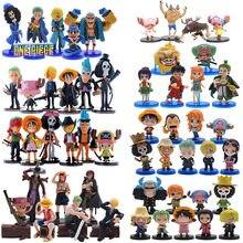 6 шт/компл аниме цельные Фигурки ПВХ экшн модель Фигурка кукол