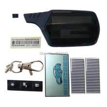 A91 LCD Display Bildschirm Flexible kabel + A91 Schlüsselanhänger Körper Abdeckung Fall Für Auto Alarm StarLine A91 Lcd Fernbedienung schlüssel Kette Fob