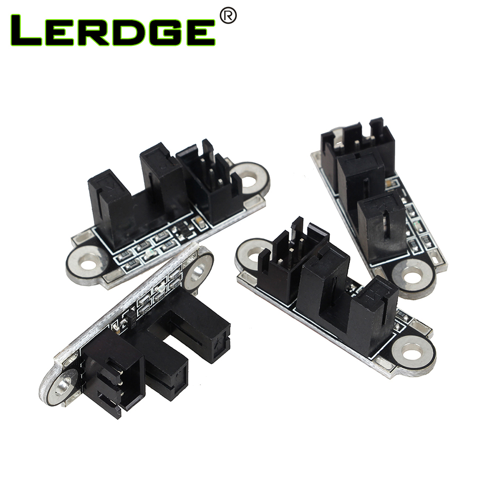 LERDGE Optical Endstop 3D Printer Parts Optical Switch Sensor Photoelectric Light Control Limit Endstop Switch Module 1M Cable