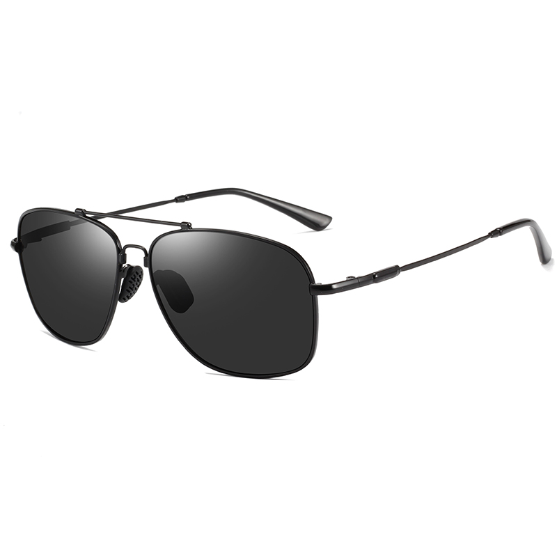 2019 New Men Polarized Sunglasses Driving Gold Metal Frame Sun Glasses Summer Green Lenses Classic Retro Beach Shades Black 178