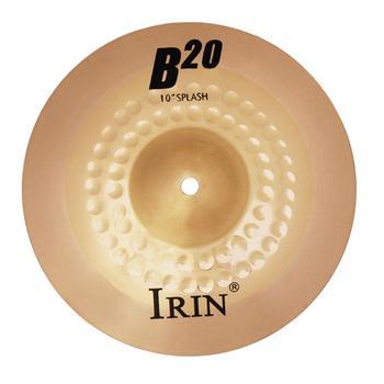 10 Cal B20 talerz profesjonalny brązowy przenośny precyzyjny Instrument perkusyjny części talerz dla graczy perkusja początkujący tanie i dobre opinie CN (pochodzenie) PEL_0H6Y