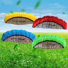 free shipping high quality 2.5m Dual Line Stunt Sport  soft Kite with control bar kitesurfing outdoor toys flying kiteboard