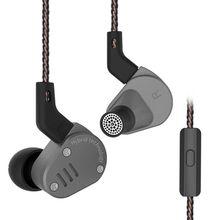 KZ ZSA Earphones, ZSA in-Ear Headphones Metal in Earphone Armature and Dynamic Hybrid in Ear Monitors Sport Headset Earbuds HiFi kz zs10 10 driver in ear earphone 4ba hybrid dynamic armature earbuds hifi high fidelity bass sport running headset dj as10 zs10