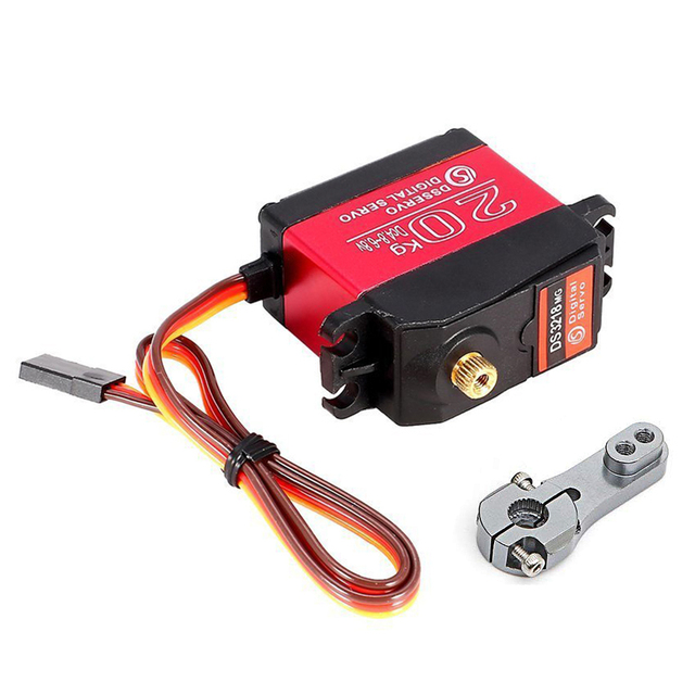 DSSERVO DS3218MG 20kg Metal Gear Digital Steering Servo for RC Baja Car Buggy Truck Boat Airplane Helicopter|Parts & Accessories|   -