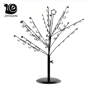 Jewelry Bracelet Necklace Earring Ring Storage Display Stand Organizer Holder Tree Style Jewelry Display Rack Counter Display фото