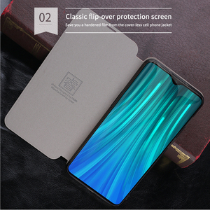 Image 5 - For Xiaomi Redmi Note 7 8 Pro Case MOFI Flip PU Leather Stand Cases For Redmi Note 8T Note 8 Pro Book Style Book Style Cover