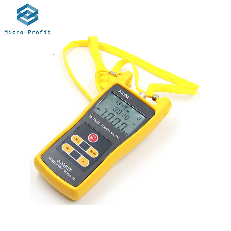 JoinWit JW3208A FC Portable Optical Power Meter -70~+3dBm For Telecommunications