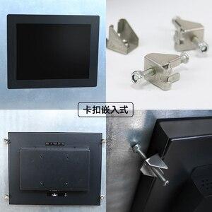 Image 3 - 17 дюймовый емкостный сенсорный экран ПК монитор с мультисенсорным экраном USB промышленный компьютерный монитор