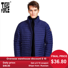 Tiger Force 2020 new arrival jackets male casual high quality spring autumn zipper men's par down jacket for men outerwear 50633