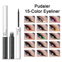 DHL Pudaier Colorful Liquid Eyeliner Waterproof Eye Pencil Pigment Matte Liner Pen For Eyes Makeup Maquiagem Delineador
