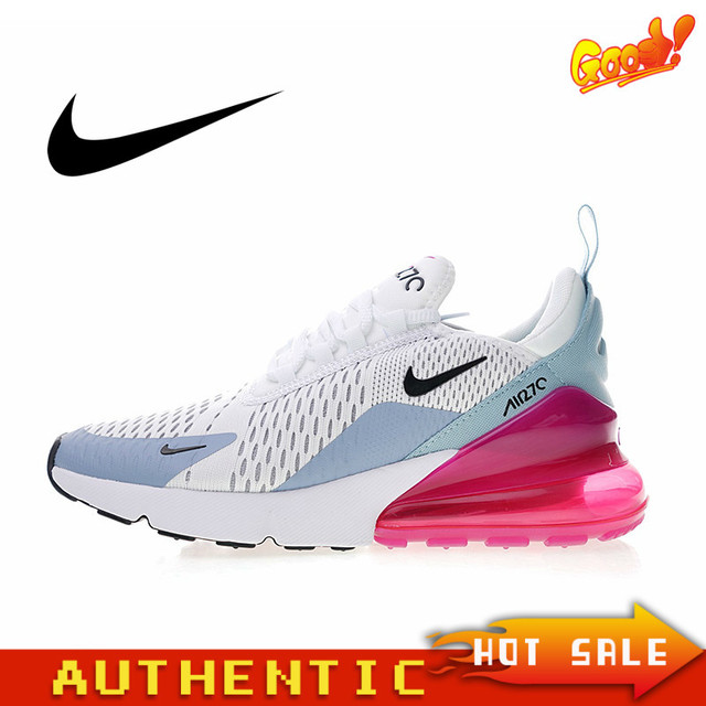Original Authentic NIKE Air Max 270 Women's Running Shoes Fashion Outdoor Classic Sports Shoes Comfortable and Breathable AH6789