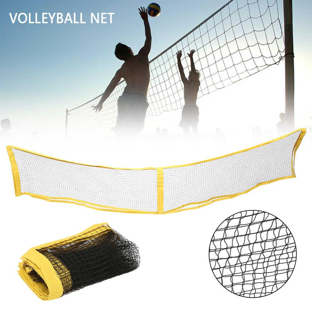 Portable Badminton Volleyball Tennis Net Outdoor Garden Sports Standard Training